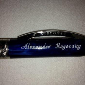 Гравировка имени на ручке