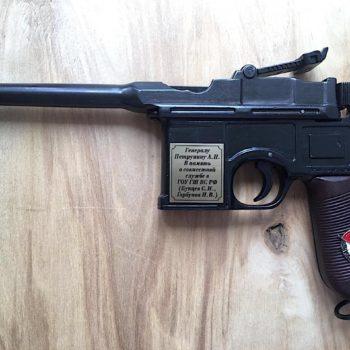 Табличка для пистолета