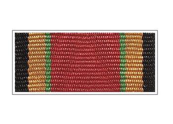 Лента медали «100 лет Вооруженным силам РФ»