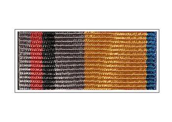 Лента медали «100 лет Вооруженным силам России»