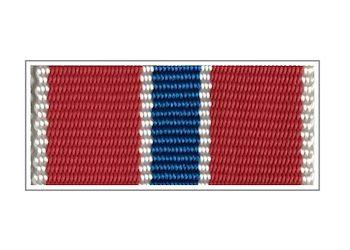 Лента медали «100 лет военной разведке»