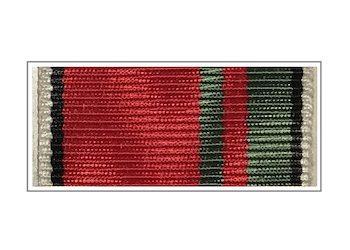 Лента медали «15 лет Судебному Департаменту при Верховном Суде»