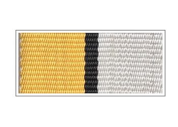 Лента медали «50 лет атомной энергетике СССР»