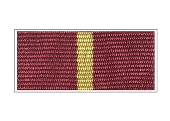 Лента медали «70 лет ГО МЧС»