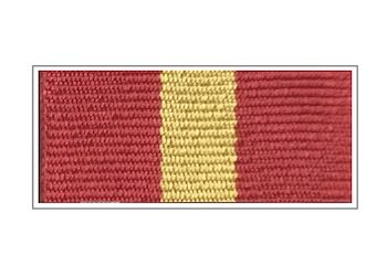 Лента медали «70 лет Главному управлению МЧС России по г. Москве»