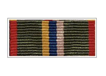 Лента медали «80 лет Пограничных войск»