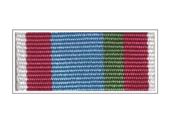 Лента медали «85 лет ВДВ» II степени