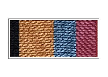 Лента медали «Генерал армии Хрулев»
