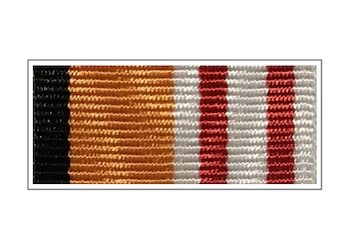 Лента медали «Генерал-майор Александр Александров»