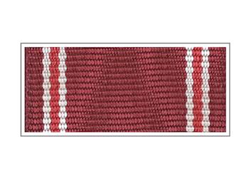 Лента медали «Участник боевых действий. Честь. Мужество. Слава.»