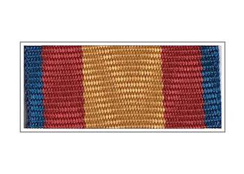 Лента медали «Участник парада на Красной Площади»(МЧС)