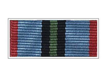 Лента медали «Участнику Афганской войны»