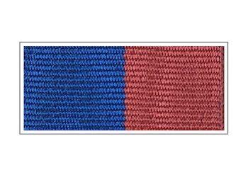 Лента медали «Ветеран Федеральных органов государственной охраны»