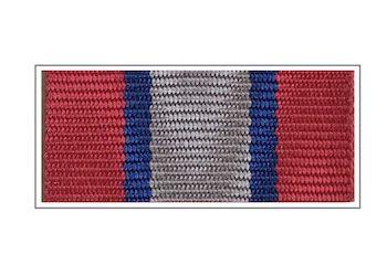Лента медали «Ветеран боевых действий»