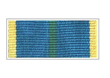Лента медали «За безупречную службу» I степени