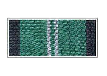 Лента медали Железнодорожных войск «За безупречную службу» II степени