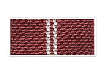 Лента медали ГФС«За безупречную службу» II степени