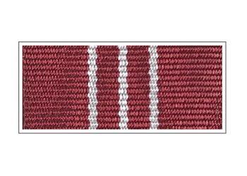 Ленты медали «За безупречную службу» III степени