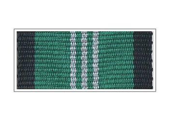 Лента медали «За безупречную службу» III степени
