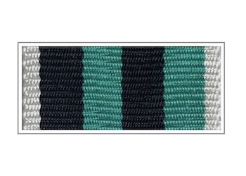 Лента медали Железнодорожных войск «За доблесть» I степени