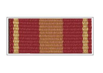Лента медали «За доблесть» (в бронзе)