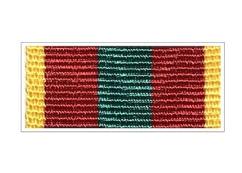 Лента к медали «За доблестный труд в ВОВ»