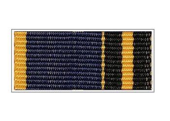Лента медали «За отличие в обеспечении информационной безопасности»