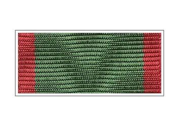 Лента Медаль «За отличие в охране государственной границы»