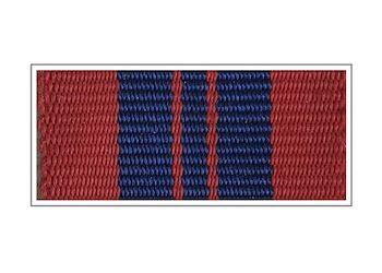 Лента Медаль «За отличие в охране общественного порядка»