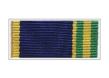Лента медали «За отличие в пограничной деятельности»