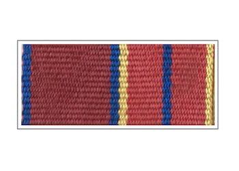 Лента медали «За отличие в службе» I степени