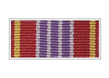 Лента медали «За отличие в службе» III степени