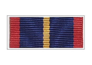 Лента медали «За отличие в службе в органах наркоконтроля» I степени