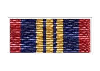 Лента медали «За отличие в службе в органах наркоконтроля» III степени