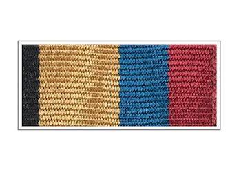 Лента медали «За отличие в учениях»