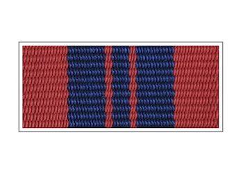 Лента к медали «За отличную службу в охране общественного порядка»