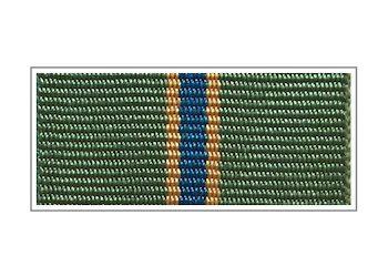 Лента медали «За службу» I степени