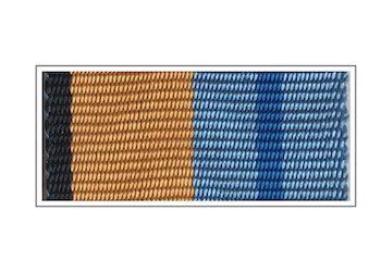 Лента к медали «За службу в Космических войсках»
