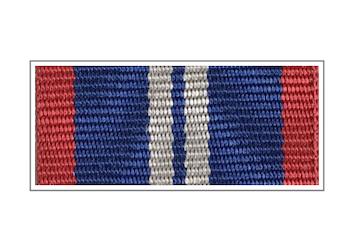 Лента медали «За службу в наркоконтроле» II степени