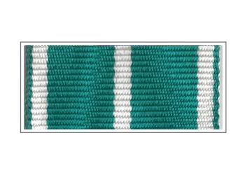 Лента медали «За службу в таможенных органах» I степени
