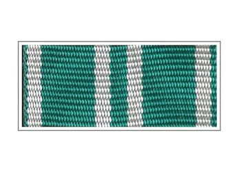 Лента медали «За службу в таможенных органах» II степени