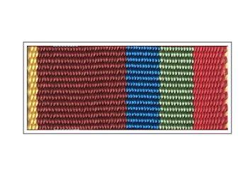 Лента медали «За содействие», ГФС