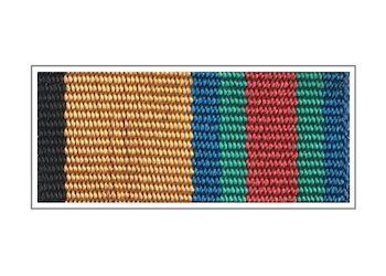 Лента медали «За укрепление боевого содружества»