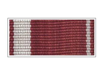 Лента медали «За усердие» I степени