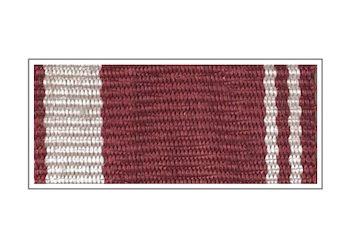 Лента медали «За усердие» II степени