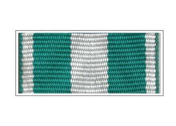 Лента медали «За усердие» Таможенной службы