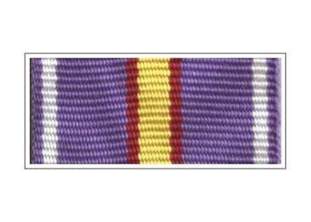 Лента медали «За усердие в службе» I степени
