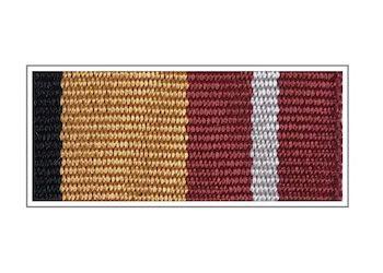 Лента к медали «За воинскую доблесть» I степени
