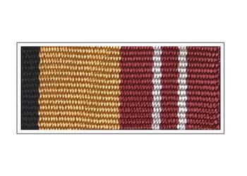Лента медали «За воинскую доблесть» II степени
