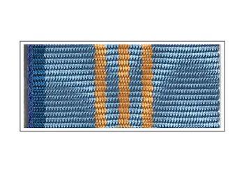 Лента медали «За заслуги и вклад» III степени